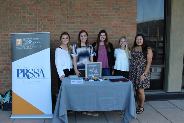PRSSA officers for 2019-2020